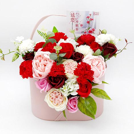 母親節活動 康乃馨香皂花束