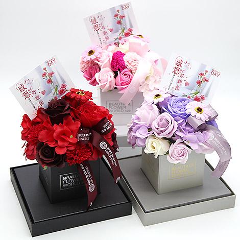 母親節禮物推薦 香皂花禮盒