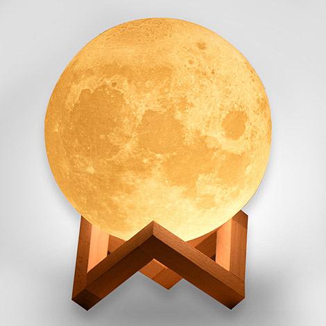 送禮物  3D仿真月球燈 值得紀念