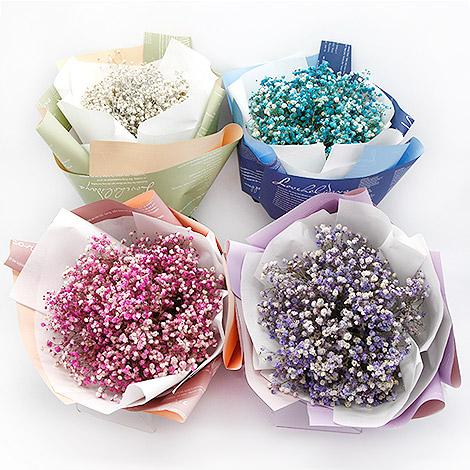乾燥花 滿天星乾燥花束