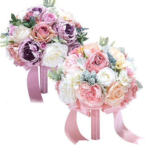 森林系新娘捧花  玫瑰捧花