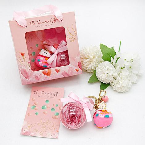 情人節禮品 扭蛋香皂花球