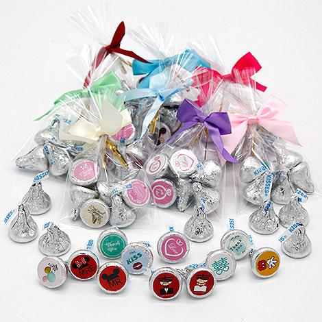 送客小禮 KISS巧克力 6入袋裝