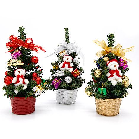 聖誕節送什麼 桌上型迷你聖誕樹