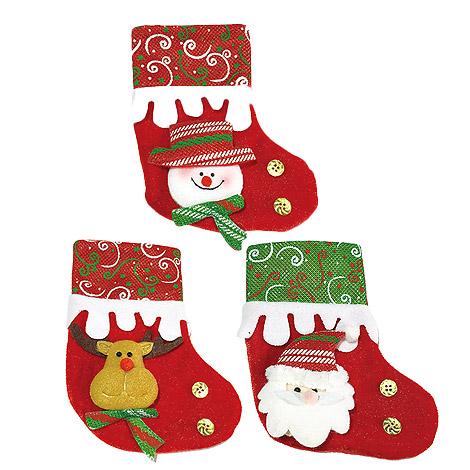 聖誕禮物送什麼  聖誕襪(小)