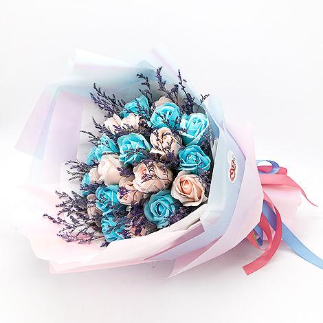 情人節禮物專賣店 玫瑰花香皂花束