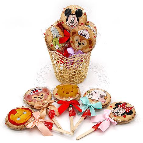 婚禮超吸睛喜糖 迪士尼卡通麥芽餅棒棒糖