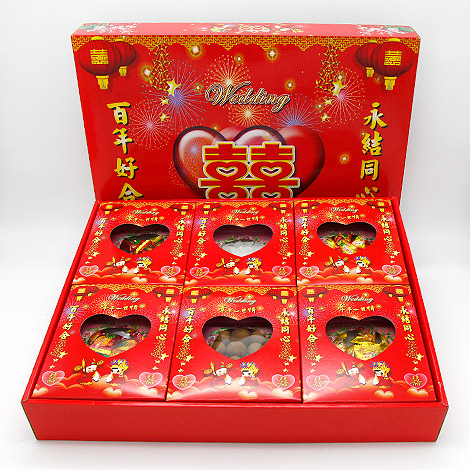 訂婚十二禮 婚禮習俗四色糖禮盒