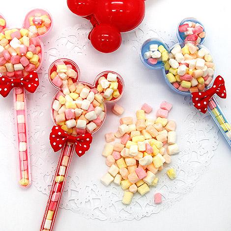米奇米妮卡通棉花糖棒 婚禮小物棉花糖