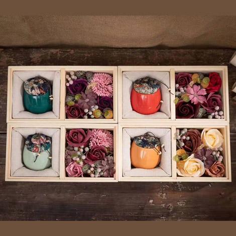 特別禮物 玫瑰香皂花禮盒