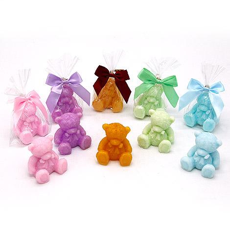 泰迪熊造型手工香皂 婚禮小物推薦