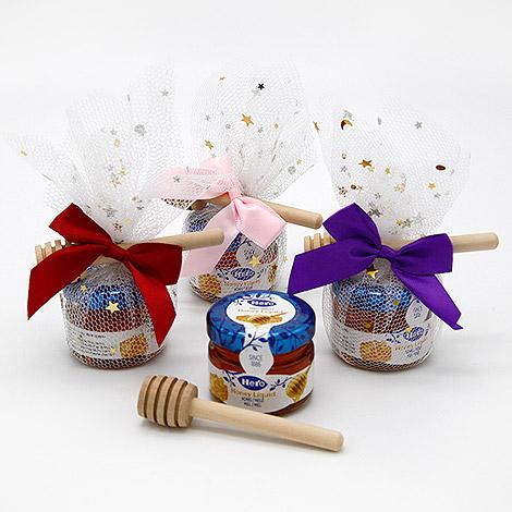 星星紗蜂蜜+蜂蜜棒
