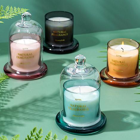 香氛蠟燭 北歐鐘罩香蠟