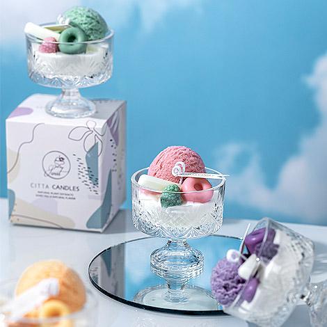 甜蜜蜜 新戀冰淇淋香氛蠟燭