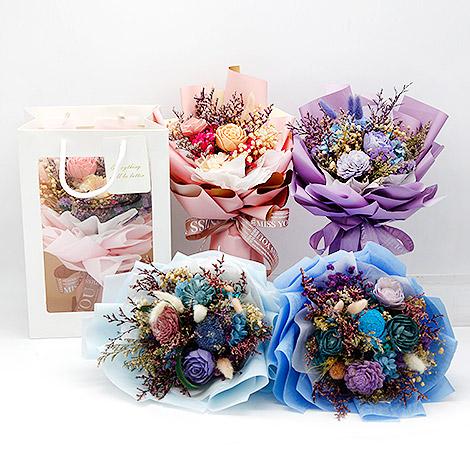 乾燥花花束 節慶送禮物