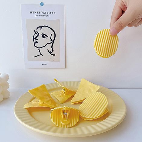 創意洋芋片造型夾 二次進場婚禮小物