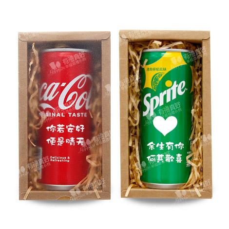 告白汽水 客製可樂 一瓶汽水禮盒裝 235ml