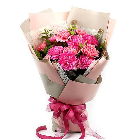 母親節康乃馨花束 代客送花